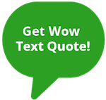 Get Wow Text Quote